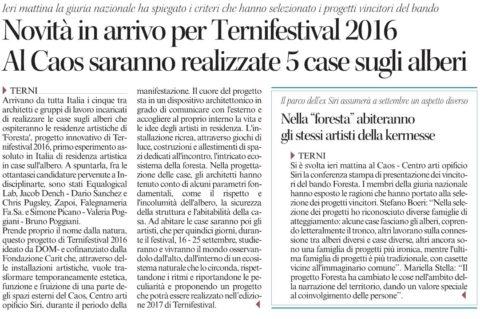 Corriere Umbria 21 lug 16