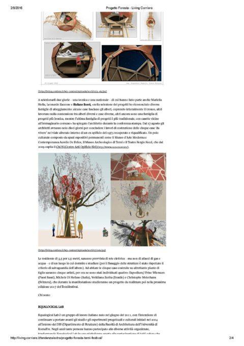Progetto Foresta – Living Corriere_Pagina_2