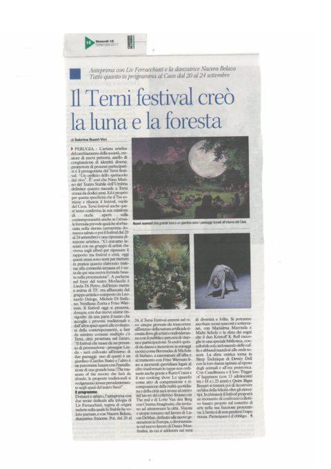 Terni Festival 2017 – corriere umbria 15 settembre